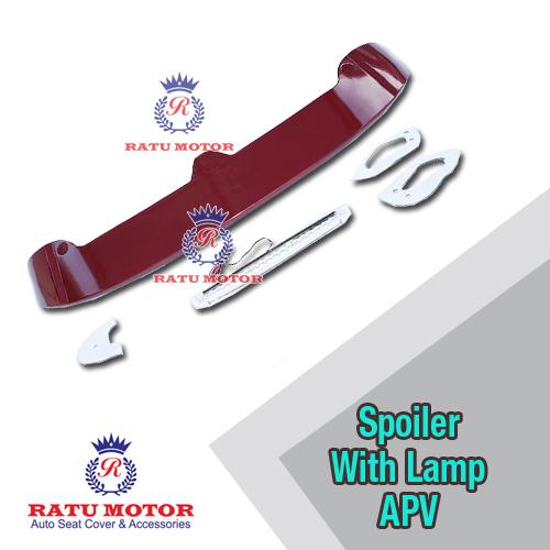 Spoiler APV Plastik + Lamp