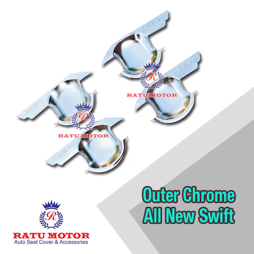 Outer Handle LOGO SWIFT Chrome