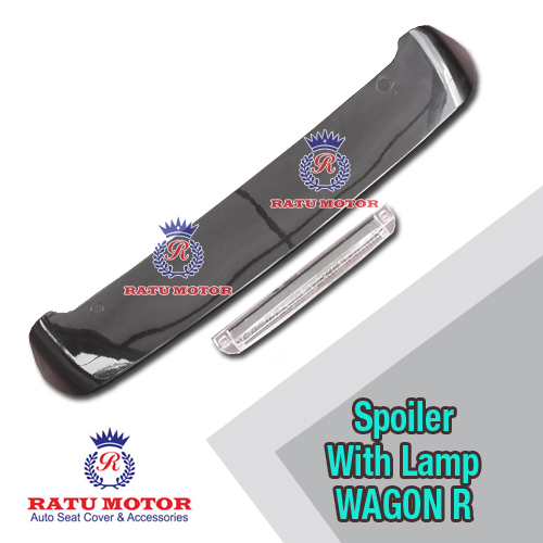 Spoiler WAGON-R All Varian Plastik Colour + Lamp