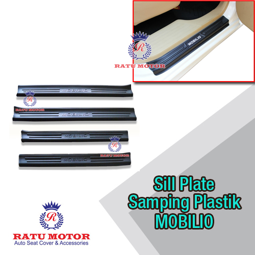 Sill Plate Samping MOBILIO All Varian Plastik Hitam