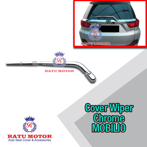 Cover Wiper Belakang MOBILIO All Varian Chrome