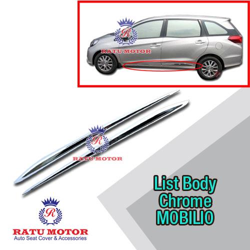 List Body MOBILIO 2013-2018 Chrome