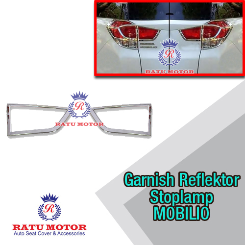 Garnish Reflektor Stoplamp MOBILIO Chrome All Varian