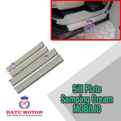 Sill Plate Samping MOBILIO All Varian Plastik Cream