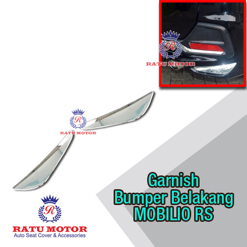 List Bumper Belakang MOBILIO RS Chrome