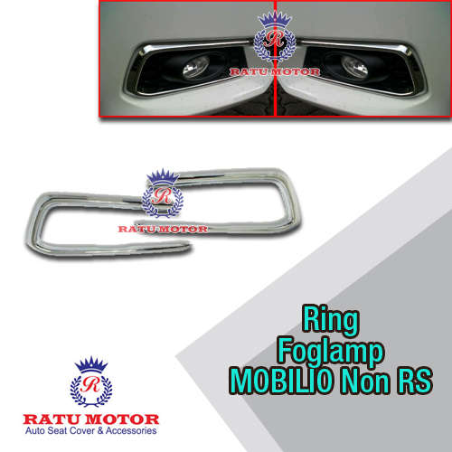 Ring Foglamp MOBILIO Non RS Chrome