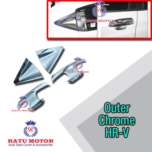 Outer Handle Honda HRV 2015-2018 Chrome (4 Pintu)