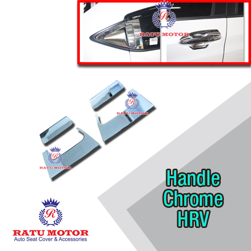 Cover Handle Chrome Honda HRV 2015-2018 Full Set (4 pintu)