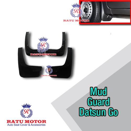 Mud Guard (Karpet Roda) DATSUN GO+ Plastik Hitam