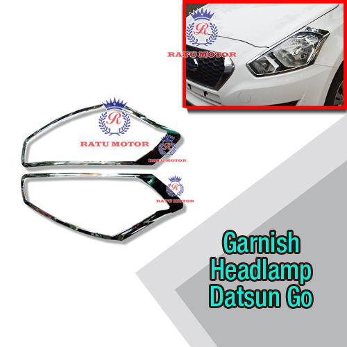 Garnish Headlamp Datsun GO+ Chrome