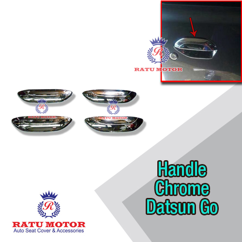 Cover Handle Datsun GO+ Chrome