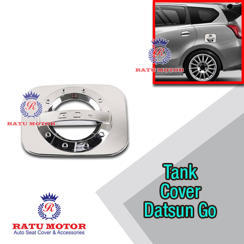 Tank Cover Sporty Datsun GO+ Chrome