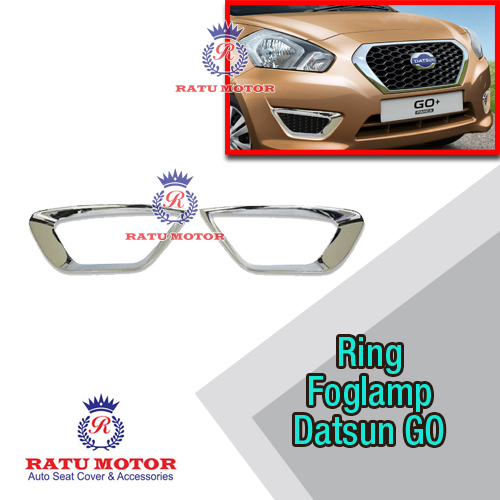 Ring FogLamp Datsun GO+ Chrome