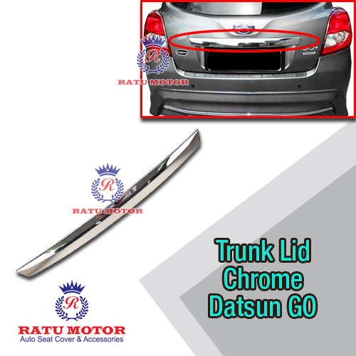 Trunk Lid Datsun GO+ Chrome