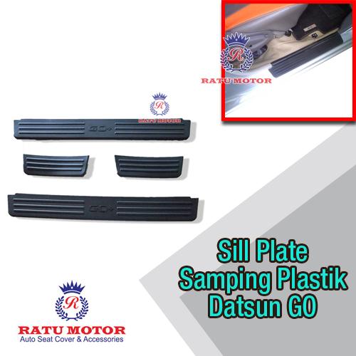 Sill Plate Samping Datsun GO+ Plastik Hitam
