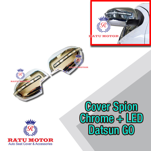 Cover Spion Datsun GO+ Chrome + Lamp (Not for GO Short)