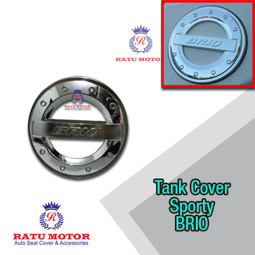Tank Cover BRIO 2013-2017 Model Sporty Chrome