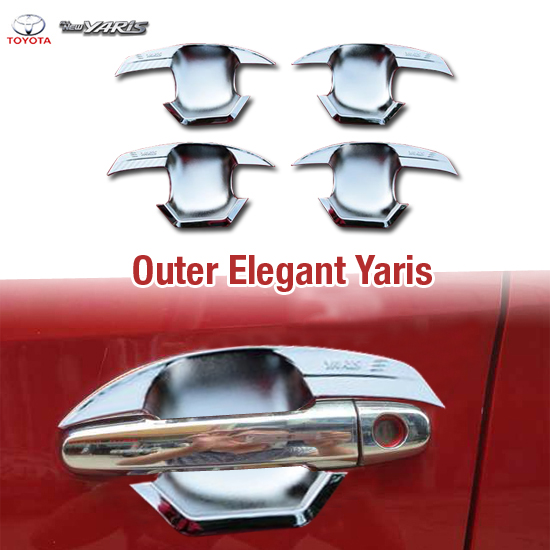 Outer Handle All New YARIS 2015 Model Elegant Chrome
