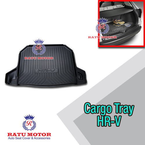 Cargo Tray (Karpet Bagasi) Honda HRV 2015-2018 Hitam