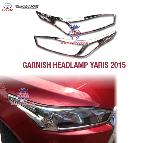 Garnish Headlamp All New YARIS 2015