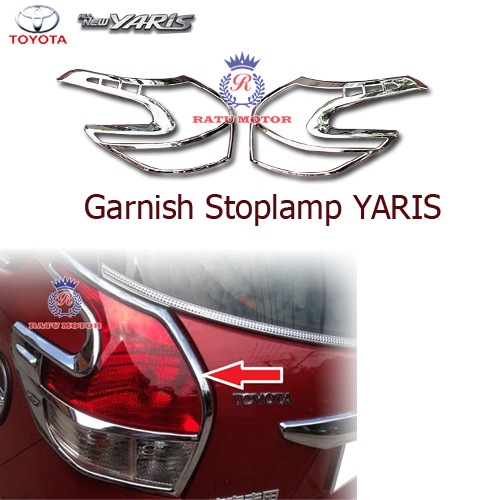 Garnish Stoplamp All New YARIS 2015