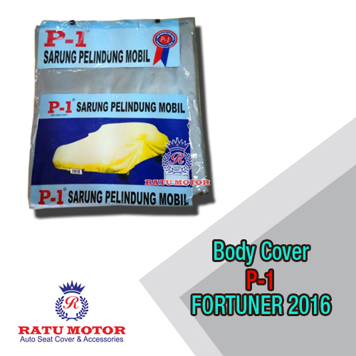 Body Cover P1 All New FORTUNER 2016 (NOT for White Car)