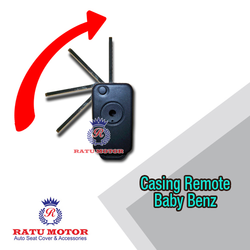Casing Remote Flip Key MERCY C Class W202