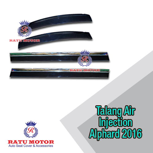 Talang Air Injection New ALPHARD / VELLFIRE 2016-2019 List Chrome Taiwan
