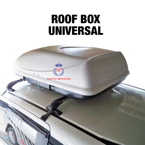 Roof Box  UNIVERSAL Warna Putih (Belum Termasuk Cross Bar)