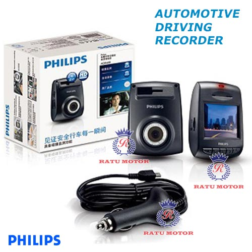 DVR PHILIPS ADR HD 600 ( Driving Video Recorder )
