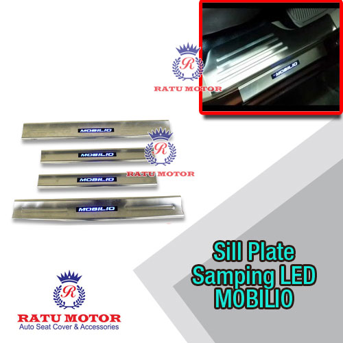 Sill Plate Samping MOBILIO All Varian Stainless + LED