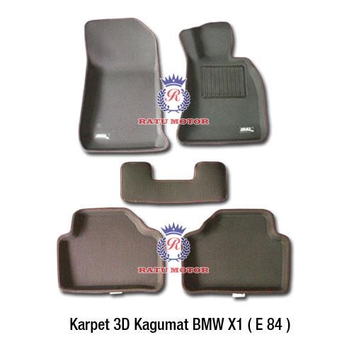 Karpet 3D KAGUMAT BMW X1 E48 tahun 2009-2015 Bahan Polyester MAXpider