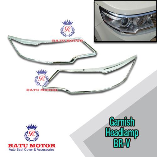 Garnish Headlamp BRV Chrome