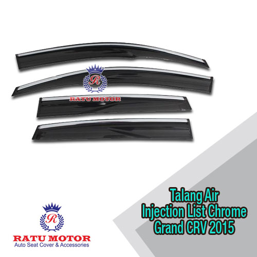 Talang Air Injection Grand CRV 2015 + List Chrome