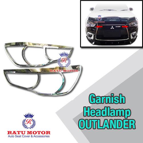 Garnish Headlamp OUTLANDER 2013-2014