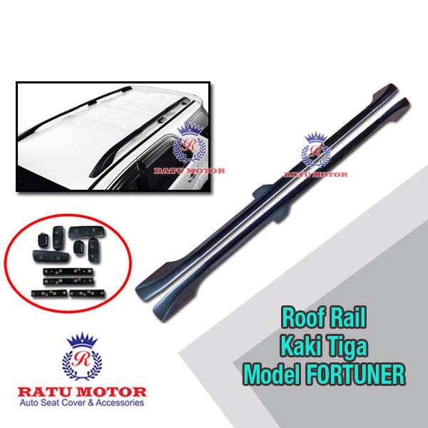 ROOFRAIL Universal Kaki 3 Size LONG - Cocok utk Innova, Fortuner dan sejenis