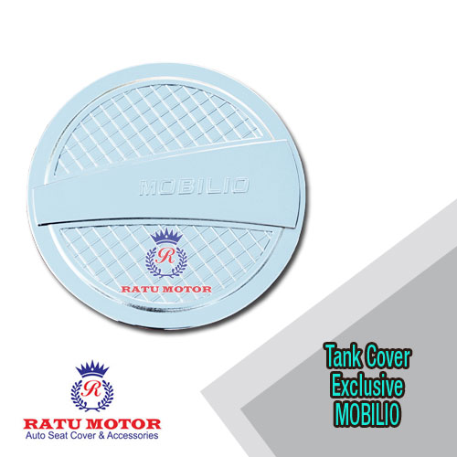 Tank Cover MOBILIO All Varian Model Exclusive Chrome
