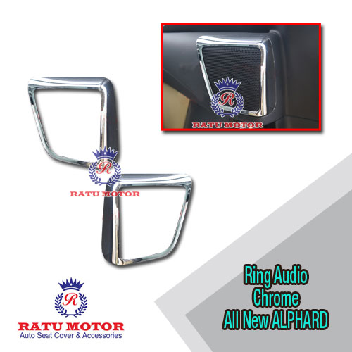Cover Speaker All New ALPHARD 2016-2018 Chrome