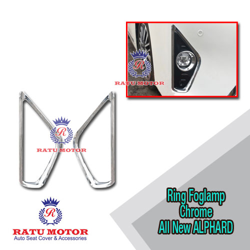 Ring Foglamp All New ALPHARD 2016-2017 Chrome