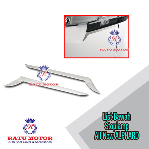 List Stoplamp All New ALPHARD 2016-2018 Chrome