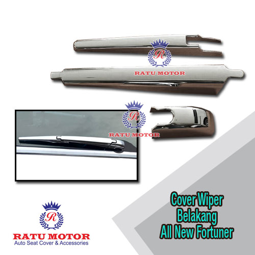 Cover Wiper Belakang All New FORTUNER 2016 Chrome