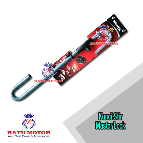 Kunci Stir MASTER LOCK 256DAT , Model : Stir Ke Pedal