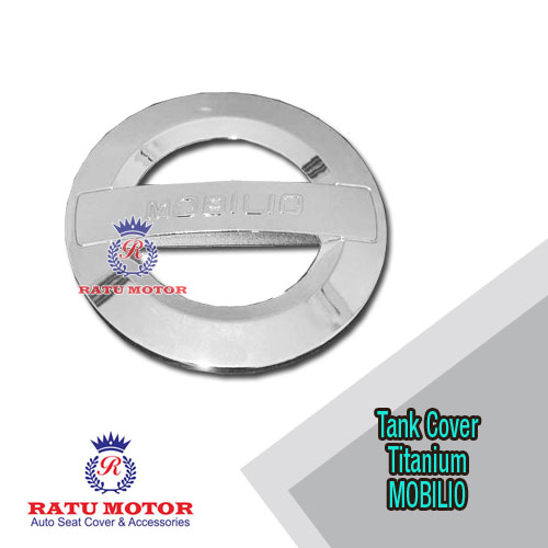 Tank Cover MOBILIO All Varian Model Titanium Chrome