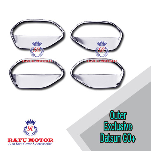 Outer Handle DATSUN GO+ Model Exclusive Chrome