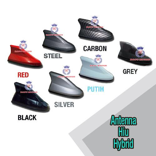 AERO Antena Sirip Hiu HYBRID FM/AM Passive (JS Racing)
