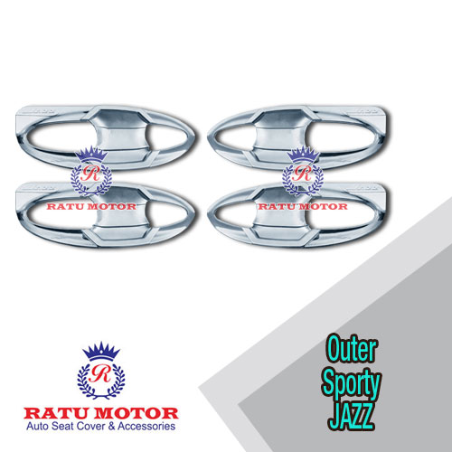 Outer Handle All New JAZZ 2014-2018 Model Sporty Chrome
