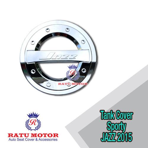 Tank Cover All New JAZZ 2014-2019 Model Sporty Chrome