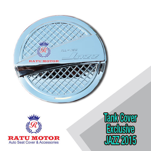 Tank Cover All New JAZZ 2014-2019 Model Exclusive Chrome