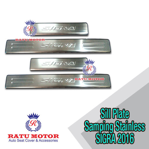 Sill Plate Samping  SIGRA 2016 Stainless w/o Lamp