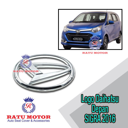 Logo DAIHATSU Depan Original For SIGRA 2016